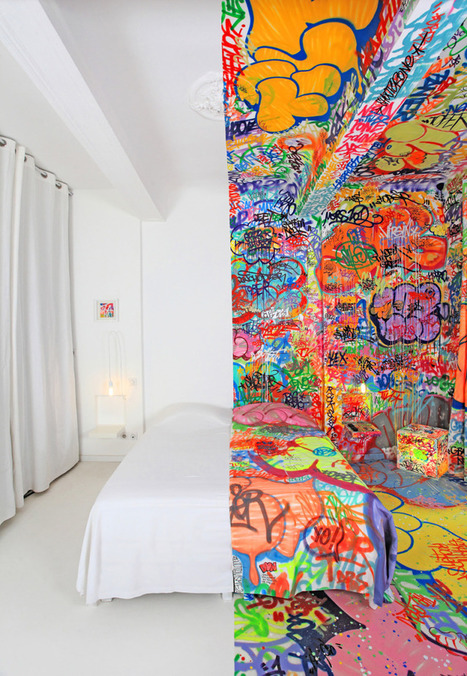 The Half Graffiti Hotel Room | VIM | Scoop.it