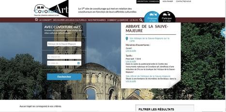 Covoiture-Art.com partenaire du Centre des monuments nationaux | L'observateur du patrimoine | Scoop.it