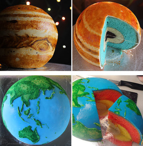 Unbelievably Gorgeous Galaxy Confectionery will Transport you to a Far Universe -WhereCoolThingsHappen   Our Earth's Geology, Minerals & Gemstones   Scoop.it