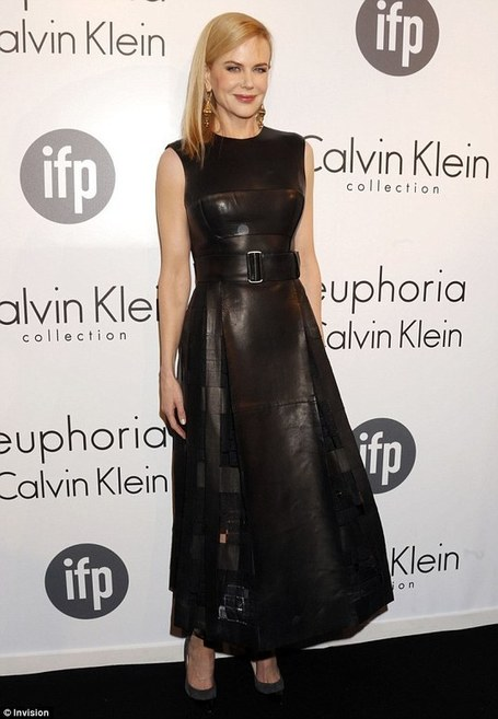 Where is your whip? Nicole Kidman transforms into a fashion dominatrix in all leather dress at Cannes Film Festival | BlingBling | Scoop.it
