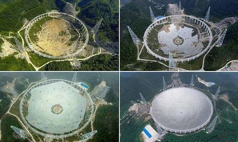 China prepares for grand opening of world's largest radio telescope | Communication design | Scoop.it