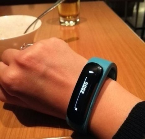 Huawei smartwatch photos looks more like a wristband | Intresting | Scoop.it