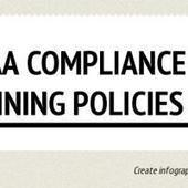 Infographic: HIPAA Compliance Training Policies | Infogram | Online HIPAA Certification, HIPAA Privacy, Security & Compliance Training | Scoop.it