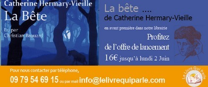 La bête de Catherine HERMARY-VIEILLE Livre audio CD MP3 | livres audio, lectures à voix haute ... | Scoop.it