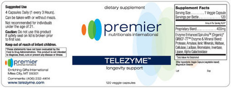 SLOWING DOWN THE AGING PROCESS | Telezyme™ - Telomerase Enzyme Supplement | Health | Scoop.it
