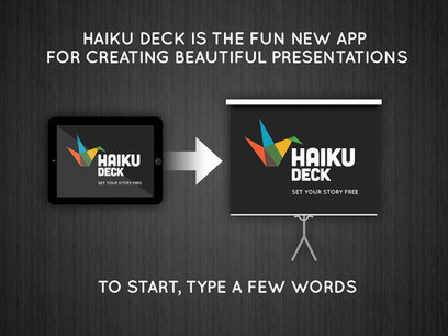Making Beautiful Presentations Is A Breeze With Haiku Deck 2.0 | Teaching and Learning English through Technology | Scoop.it