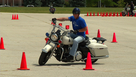Police officers from all over train on Harleys in Springfield - KY3 | Traffic Cones | Scoop.it