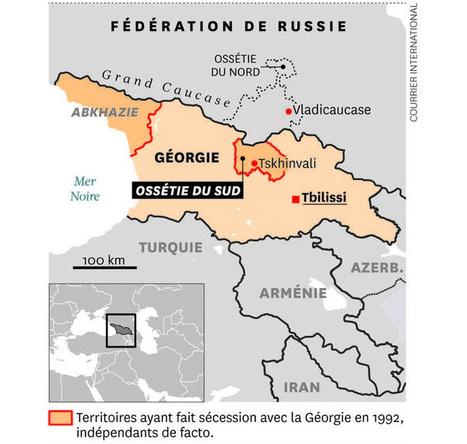 L'Ossétie du Sud va demander son rattachement à la Russie - Courrier international | Histoire Géographie Enseignement | Scoop.it