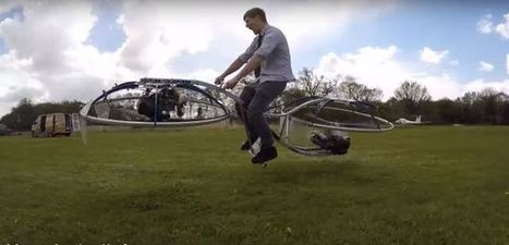 Crazy Inventor Builds Homemade Hoverbike [Video] | Post-Sapiens, les êtres technologiques | Scoop.it