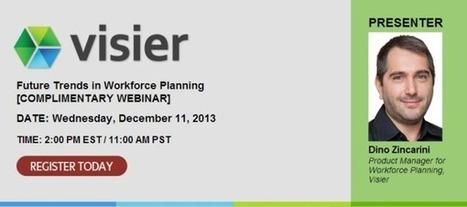 Complimentary Webinar: Future Trends in Workforce Planning | HR Analytics & WFP | Scoop.it