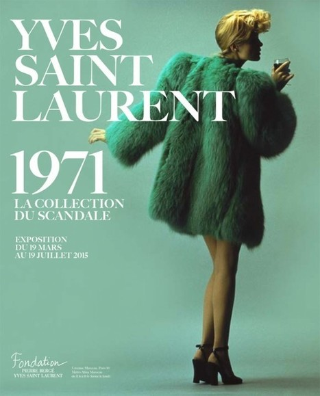 We Are Selecters · Yves Saint Laurent 1971 The Scandal Collection | My Fashion Selection | Scoop.it