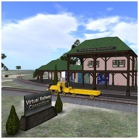 Virtual Railway Consortium | InWorldz Fun | Scoop.it