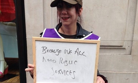 In pictures: public sector workers explain why they are striking | AUSTERITY & OPPRESSION SUPPORTERS  VS THE PROGRESSION Of The REST OF US | Scoop.it