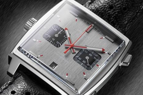 The TAG Heuer Monaco: From the Track to the History Books - watch reviews on worn&wound   luxury watches   Scoop.it