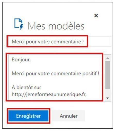 Outlook Office Online : utiliser des modèles de mails prédéfinis | Freewares | Scoop.it