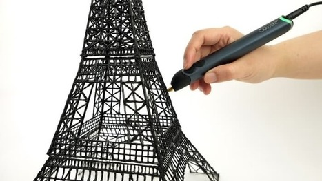 The most popular 3D printing pen gets a makeover – meet the 3Doodler Create | Educational technology , Erate, Broadband and Connectivity | Scoop.it