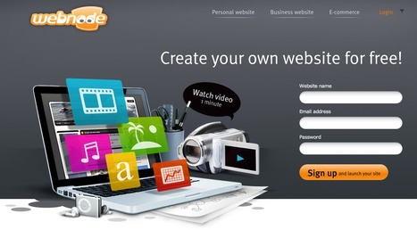 Create your own website for free - Webnode | Education Library and More | Scoop.it