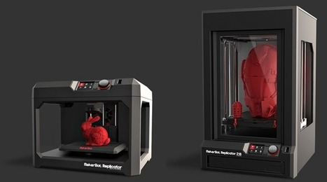 MakerBot Starts Shipping The New Replicator And Taking Pre-Orders For Their Biggest 3D Printer Ever   TechCrunch   Macro.Today   Scoop.it
