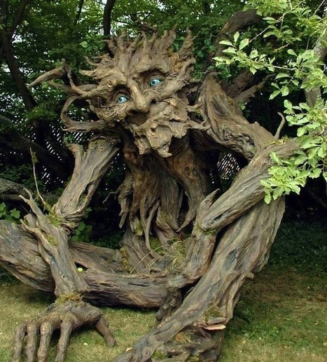 Tree Troll Sculpture by Kim Beaton | Game Guides in Africa.. | Scoop.it