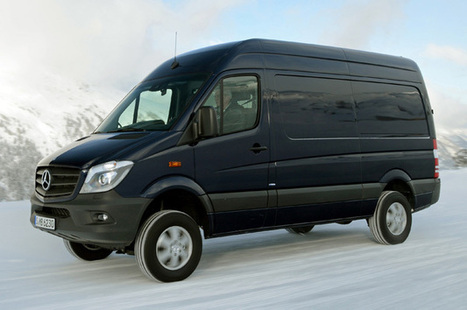 Mercedes-Benz Sprinter gets 4x4 variant for all-weather deliveries [w/videos] - Autoblog (blog) | Gross Vehicle Mass Upgrades | Scoop.it