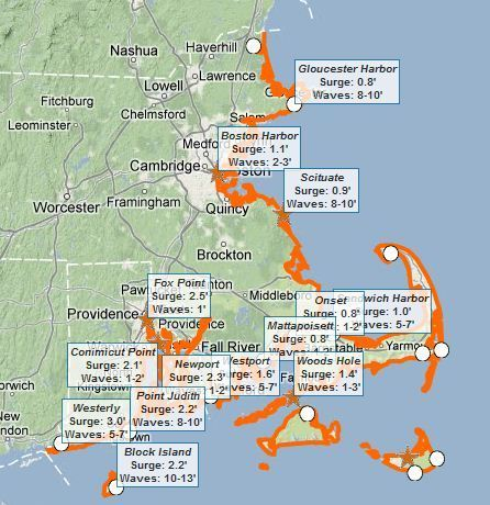 Coastal Hazard Threat Map | Development geography | Scoop.it