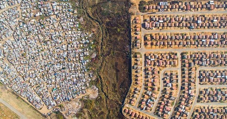 Lines Dividing Rich And Poor Captured With Drones | Yr 7-10 Geography | Scoop.it