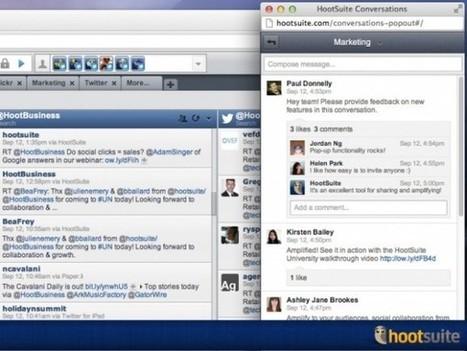 HootSuite Conversazioni: il nuovo strumento di conversazione interna | Social Media: notizie e curiosità dal web | Scoop.it