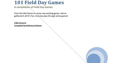 Field Day Games | Physical Education & Fitness | Scoop.it