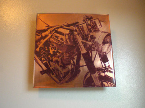 Holiday gift idea - Ducati Motorcycle Painting by BarrycroStudios - Etsy.com | Ductalk Ducati News | Scoop.it