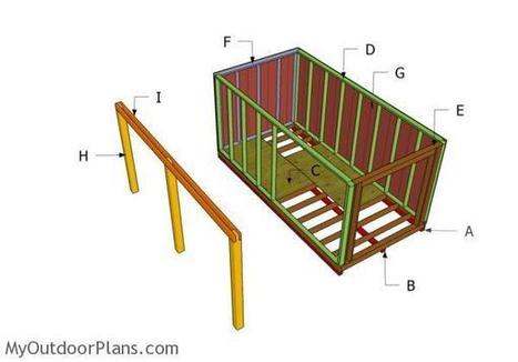 Shed with Porch Plans | MyOutdoorPlans | Free Woodworking Plans and Projects, DIY Shed, Wooden Playhouse, Pergola, Bbq | Garden Plans | Scoop.it