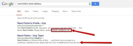 14 Ways to Find Any Email Address in 10 Minutes or Less | Online Marketing Resources | Scoop.it
