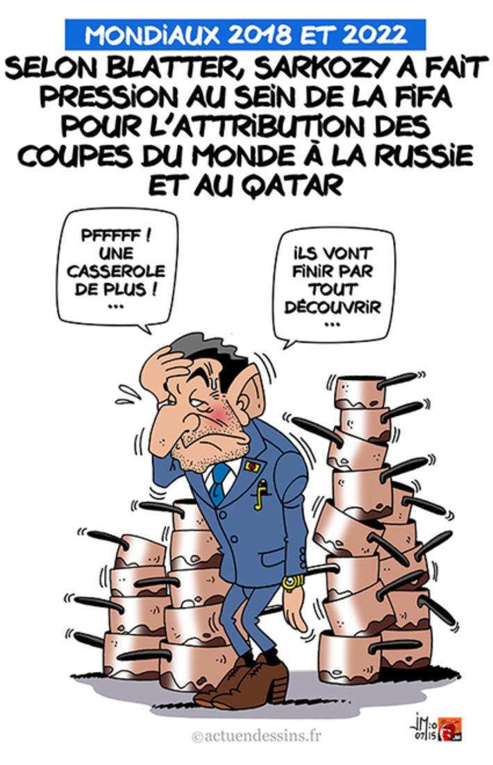 Mondiaux 2018 et 2022 : Blatter dénonce Sarkozy | Baie d'humour | Scoop.it