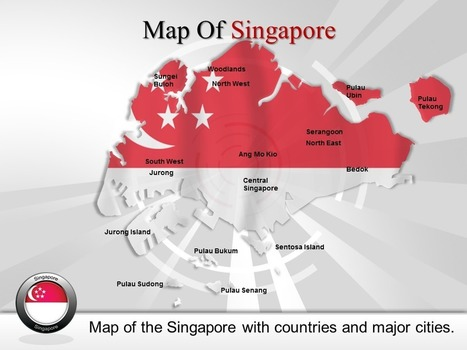 PowerPoint Template Represent the fact about Singapore | PowerPoint Maps Online | PowerPoint Maps | Scoop.it