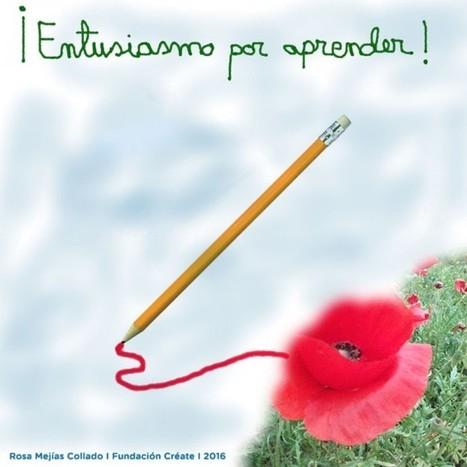 El entusiasmo por aprender; el entusiasmo por enseñar - Fundación Créate | Educacion, ecologia y TIC | Scoop.it
