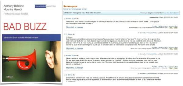 Bad buzz : gérer une crise sur les réseaux sociaux : Commentaire positif vs commentaire négatif  sur le livre | Bad buzz | Scoop.it
