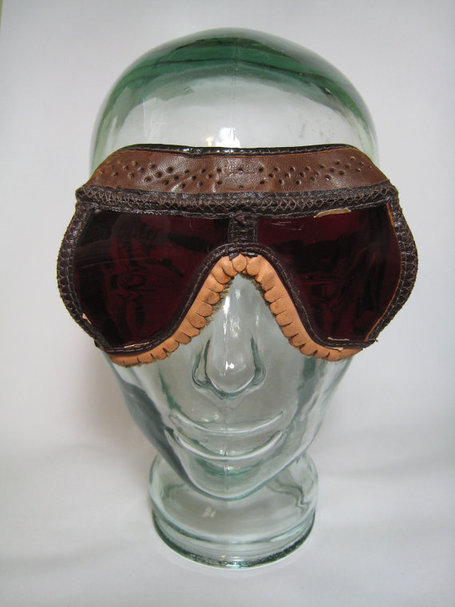 WWII Vintage Dark Adaptation Pilot's Goggles 1943 | Antiques & Vintage Collectibles | Scoop.it