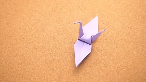 How to Fold a Paper Crane | Year 10 History & English: Sadako and the Thousand Paper Cranes | Scoop.it