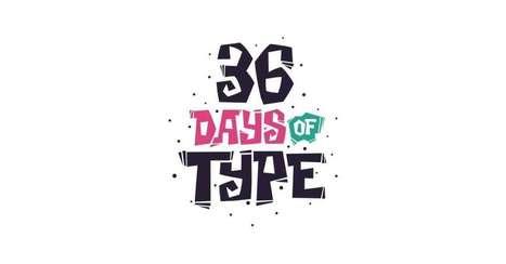 36 Days of Collaborative Typography   DashBurst   Digital-News on Scoop.it today   Scoop.it