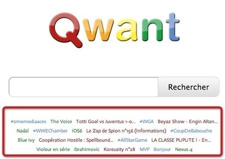Lancement de Qwant, nouveau moteur de recherche français | Google est-il le meilleur moteur de recherche? | Scoop.it