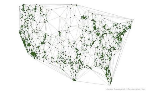 80% of Americans Live Within 20 Miles of a Starbucks | AP Human Geography Education | Scoop.it