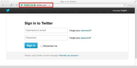 Twitter Help Center | Keeping Your Account Secure | Technology Advances | Scoop.it