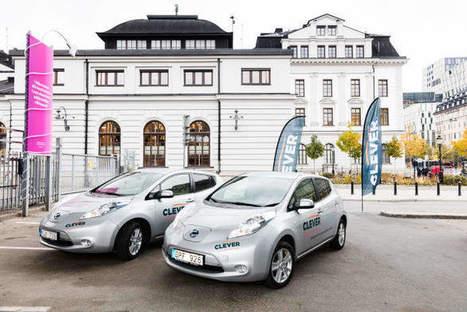 CLEVER öppnar ny elbilspool vid Stockholm C | Bilpool | Scoop.it