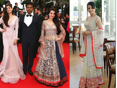 Stunning Ameesha Patel At Cannes   CHICS & FASHION   Scoop.it