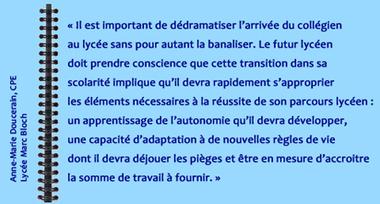 #Liaison Collège Lycée :  Devenir lycéen, les « cours sur mesure » | Veille M1-M2 | Scoop.it