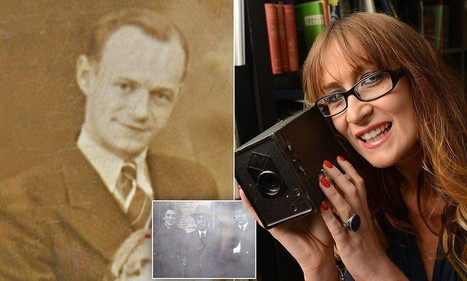 Historian finds unprocessed antique family portraits inside vintage AGFA box camera - pictures show a mystery happy group of people at a train station in the 1930s or 40s | British Genealogy | Scoop.it