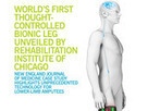 World's First Thought-Controlled Bionic Leg Unveiled by  Rehabilitation Institute of Chicago | Social Foraging | Scoop.it