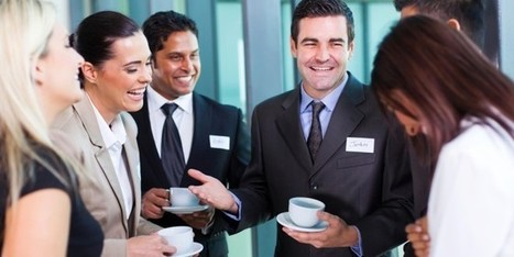 The Unexpected Benefits of Chit Chat for Business Networking - Small Business Trends | YourCard - Share and update customized contact information on the fly, with anyone, regardless of what phone or app they use | Scoop.it