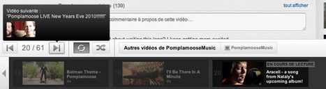 Transformer votre YouTube en jukebox | Time to Learn | Scoop.it