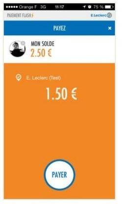 E.Leclerc se lance dans le paiement par mobile | Cross canal | E-Marketing | Scoop.it
