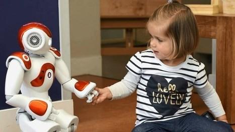 Niet juf, maar robot Robin leert Tilburgse peuters Engels | Libraries and education futures | Scoop.it